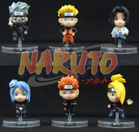 Wholesale Cute japan Anime Naruto PVC ninja Figures Set A989