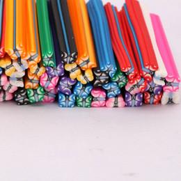 Wholesale New set Cute D Nail Art FIMO Butterfly Canes Rods Decoration set H01206