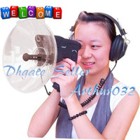 Wholesale New Bionic Ear Meters Sound Distance Voice Detector Listener Quality Headphone Spy Bird Watcher
