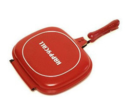 Wholesale Happycall Happy Call Ceramic Coating Fry pan Non stick pan Double Side Grill Fr