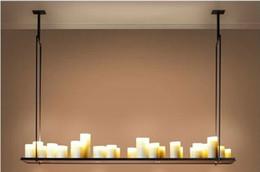 Promotion lumière pendante kevin reilly Livraison gratuite Hot products lampe suspension Bougeoir Autel, Moderne Kevin Reilly Autel Pendant Light Livraison gratuite