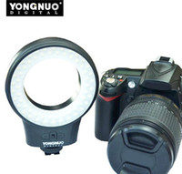 Wholesale YONGNUO WJ Macro Ring Photography Continuous LED Video Lights for Canon Nikon