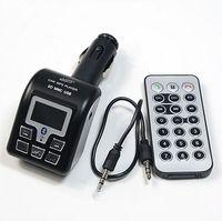 Wholesale New Bluetooth Car MP3 Player Wireless FM Transmitter Modulator USB SD MMC Black