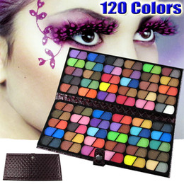 Wholesale TOP NEW Professional Full Colour Palette Eyeshadow Makeup Kit with Leather Case YY