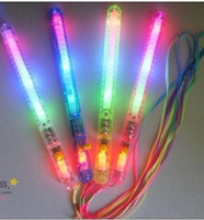 Wholesale LED many color concert flashing stick change glow wand fluorescent stick