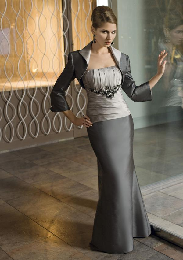 Silver Gray Mother of the Bride Dresses Mother of the Bride Suits ...