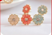Wholesale Exquisite daisy flowers Earrings