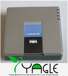 Wholesale Unlocked PAP2 N VoIP Gateway Internet Phone Adapter with Two Phone Ports