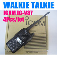 Wholesale 4Pcs ICOM IC V87 Long range Walkie Talkie Marine VHF Professional
