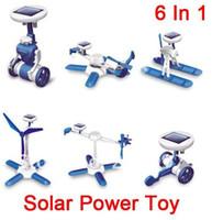 Wholesale Novelty Solar Robots In Educational DIY Solar Kits Solar Toys free via EMS