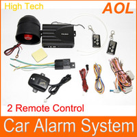 Wholesale Car alarm Car alarm security system Way Car Alarm Protection System with Remote Control