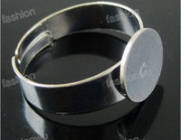Wholesale Adjustable Ring base Open ring