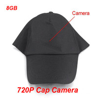 Wholesale Newest P HD Spy Camera Hat Cap with Remote Control GB Built in Hidden Spy Hat Cap Camera DVR
