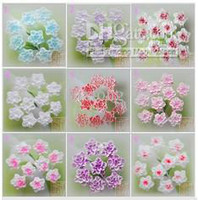 Wholesale nail art D soft ceramic rose flower mm
