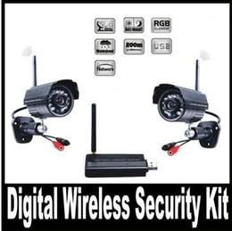 Wholesale Digital Wireless Video Camera USB Receiver DVR Home Security CCTV System Kit