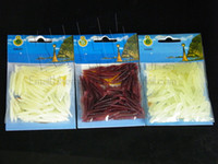 Wholesale EMS FEDEX bags cm g Soft Lures Mixed Colour Trout Trick Worms Trout Fishing L