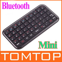 Wholesale Ultra Mini Wireless Bluetooth Keyboard C871B For PS3 iPhone4 smart phone tablet slim design C871B
