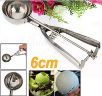 New Arrivals Stainless Steel Ice Cream Scoop Muffin Mix Cook...