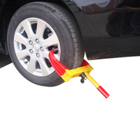Wholesale NEW Heavy Duty Wheel Clamp Lock For BOAT TRAILER CAR TRUCK CARS0176