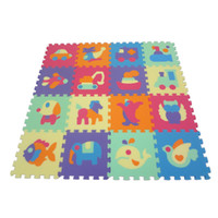32cm*32cm*1cm±1mm animal pc games - baby Double Animal crawling mat crawling mat game pad children Puzzles baby waterproof