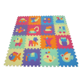 Wholesale baby Double Animal crawling mat crawling mat game pad children Puzzles baby waterproof