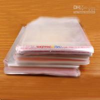 Wholesale 500Pcs Self Adhesive Seal Plastic Bags x23cm D129