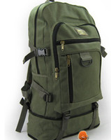 Wholesale Hot Sale Specials new fashion canvas bag large backpack mountaineering travel bag man bag