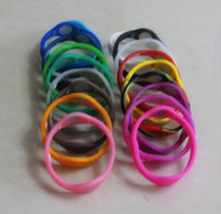 Wholesale 100pcs Balance Bracelet Silicone Wristband Bands only bands no boxes package