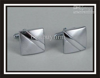 Wholesale New Stainless Steel Cuff Link with gift box Z1158 x