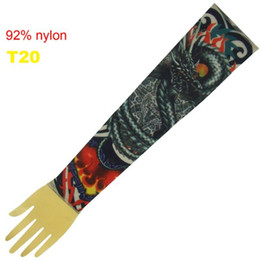 Wholesale 10x Popular Dragon Tattoo Sleeve Arm Tattoo Ideas Sleeves Fashion Tattoo Designs T20