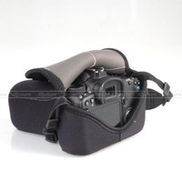 Wholesale SLR Camera Cover soft Case Bag M for Canon D D Nikon D90 D80 fit all similar camera AP C2A