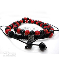 Wholesale handmade Blackred clam crystal shinny Necklace or Mixed Colors U Pick