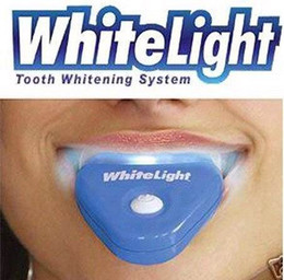 Wholesale piece white teeth home teeth whitening White Light Teeth Whitening Whitener System