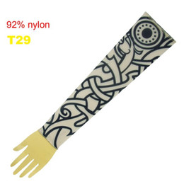 Wholesale 10x Fancy Tattoo Arm Sleeves Tattoo Ideas Popular Sleeve Tattoo Designs Fake Tattoo T29