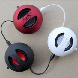 X-Mini Speaker Капсула Портативный USB Hamburger Компьютер Аудио Колонки Сабвуферы 3ЦВЕТА 30шт