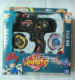 Wholesale Beyblade Hybrid Wheel Fight Attack Double Launcher Beyblade styles mixed lot