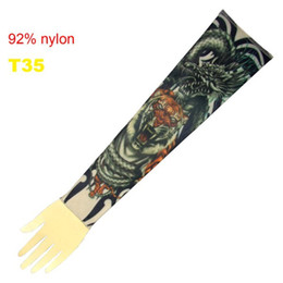 Wholesale 10x Fancy Tattoo Dragon Arm Sleeves Tattoo Ideas Popular Tattoo Sleeve Designs Pro T35