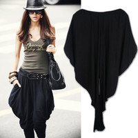 Wholesale Fashion Black Harem Pants Clubwear Women s Loose Trousers Korea Pants Capris Q105