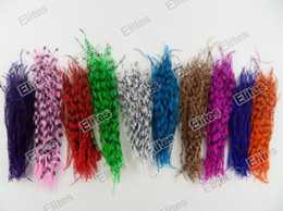 Wholesale Elites Fashion natural as rooster grizzly feathers Hair Extension Feather for hair s FET101