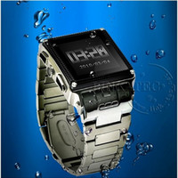Wholesale 2pcs Waterproof watch mobile phone W818 Unlocked Mp3 Mp4 Camera