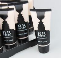 B814 12pcs 0 12pcs lot 3colors BB Cream Make Up Base+Foundation Bright&Smooth Whitening Moisturizing 40ml B814