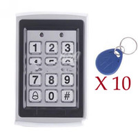 Wholesale Proximity Entry Keypad Door Lock Access Control System RFID Entry Metal Door lock Keys kits
