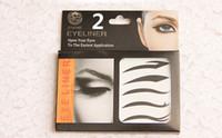 Wholesale eyeliner sticker eyelids eye liner stickers lashes eyelash eye shadow Smoky Eyes Sticker free ship