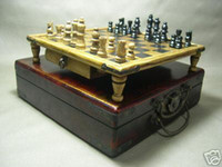 Big Kids big coffee tables - Hot sale Vintage chess set rosewood coffee table box with free gift