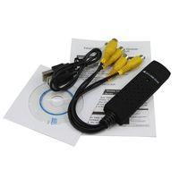 Wholesale New Channel USB DVR Video Audio Capture Adapter EasyCap002