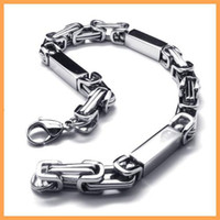 Wholesale Almost free sample men s L stainless steel fashion bracelets accessories bracelet chain ZY18832