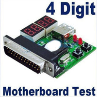 Wholesale 4 Digit PC Notebook LPT Motherboard Diagnostic Card Analyzer Test POST Computer Doctor