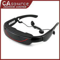 Wholesale Portable Eyewear quot Widescreen Multimedia Player Portable Video Glasses Virtual Theatre GB