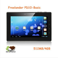 Wholesale FreeLander PD10 Tablet PC Inch Android GHz MB GB P Black Normal version