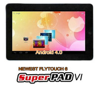 Wholesale 10 quot Android Tablet PC Flytouch Vimicro V10 GB GB WiFi HDMI GPS Tablet PC MID